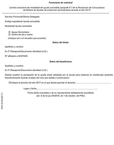 oficinas de muface en madrid boe es documento boe a 2017 5721