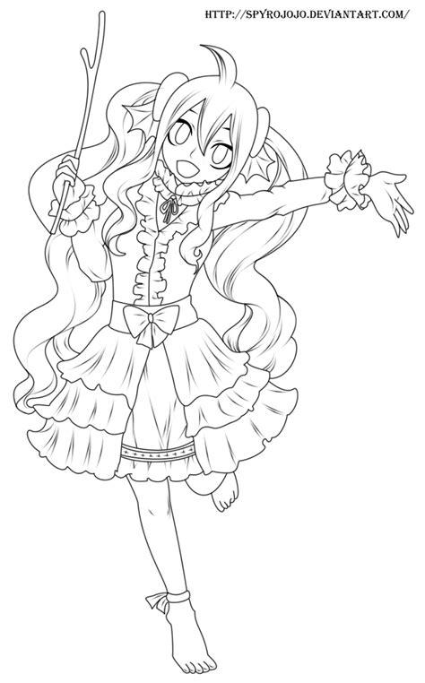 Mavis (fairy tail) Lineart by spyrojojo | Fairy tail drawing