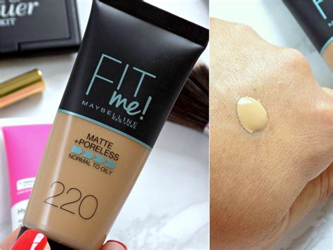 Maybelline Fit Me Matte Poreless Foundation 220 new makeup products on trial mummy s corner