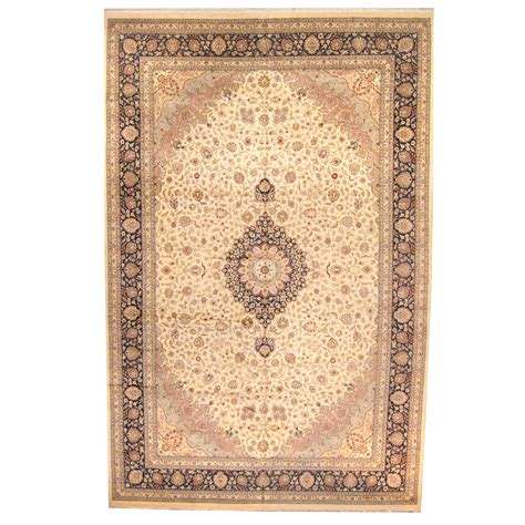 tabriz wool rug knotted vegetable dye tabriz wool rug 12 x 18 6 herat rugs