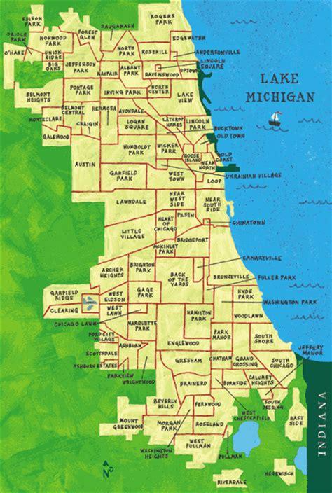 chicago ethnicity map general of neighborhoods