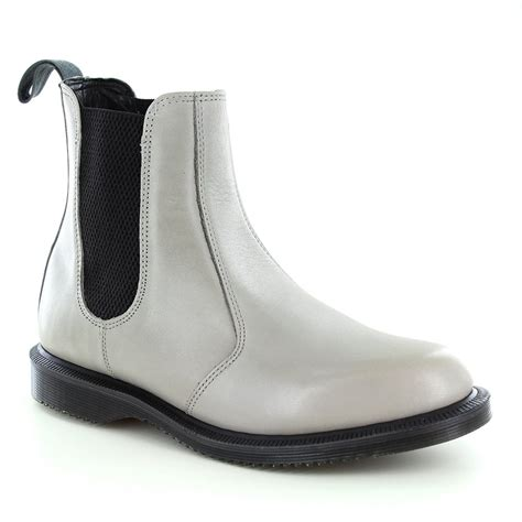 grey chelsea boots womens dr martens flora womens leather pull on chelsea boots grey