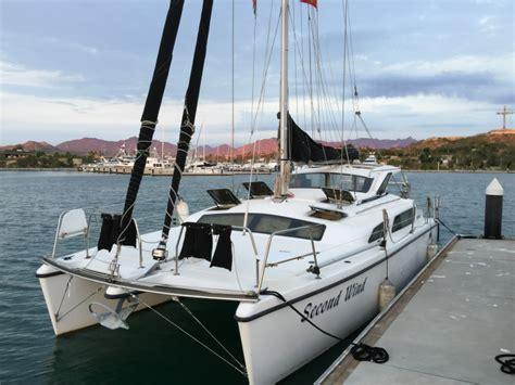 second wind catamaran for sale gemini 105mc in san diego - Gemini Catamaran Engine