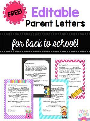 Parent Letter Speech Therapy 25 Best Ideas About Absent Letter On Find A Mailbox Absent Students And Absent