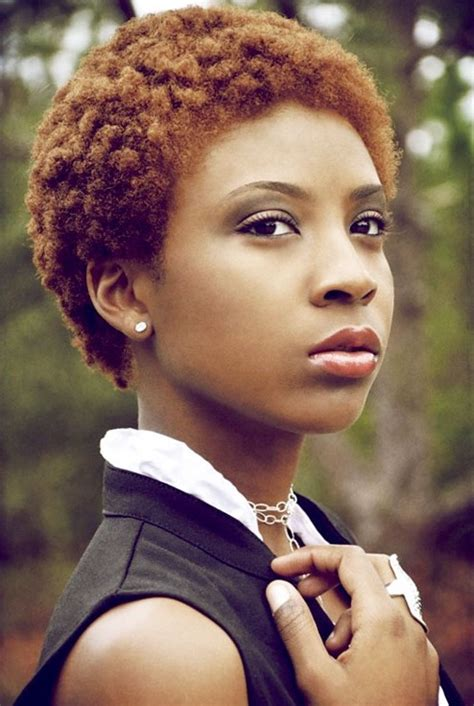 short and dyed hair cuts for african american women 15 cool short natural hairstyles for women pretty designs