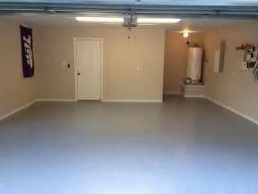 white epoxy basement floor paint color design after