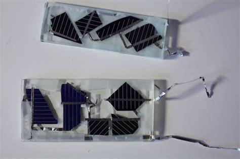 Selbst Haus Bauen 3161 by Mini Quot Solarpanel Quot Aus Solarzellenbruch Bauen