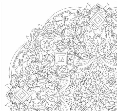 printable kaleidoscope coloring pages for adults hard kaleidoscope coloring pages az coloring pages