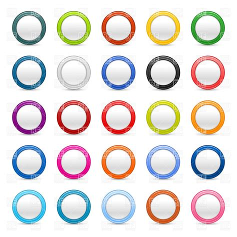 button templates free badge or button blank template 15015 design