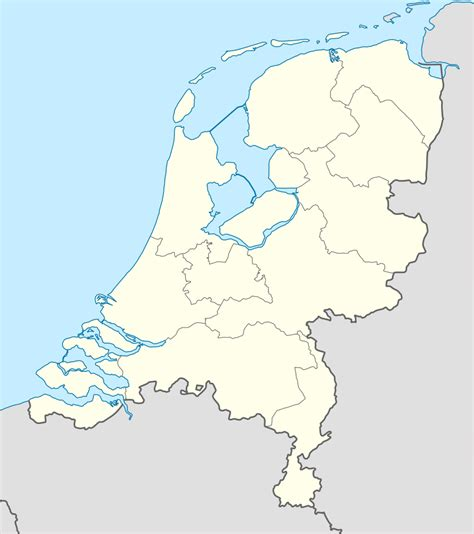 netherlands map location bestand netherlands location map svg