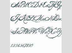 Fancy Cursive Letters A Z Loading