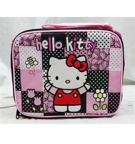 Hello Cake Pink Lunch Box hello lunch bag bk pink polka dot cxgdstter