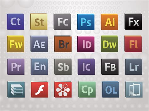 adobe softwares 13 adobe vector cloud icons images adobe creative suite