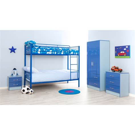 Bunk Bed Montreal Montreal Blue Single Bunk Bed Ark Furniture