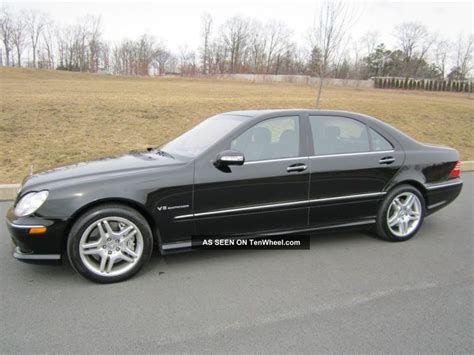 black mercedes s55 amg 2004 mercedes s55 amg base sedan 4 door 5 5l black