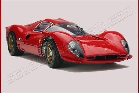 GMP 1967 Ferrari Ferrari 330 P4 Coupé   PROVA RED   Red