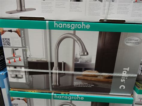 hansgrohe kitchen faucet costco hansgrohe talis c kitchen faucet
