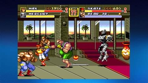 an arcade highlight from gamespot streets of rage 2 sucker punches xbla gamespot