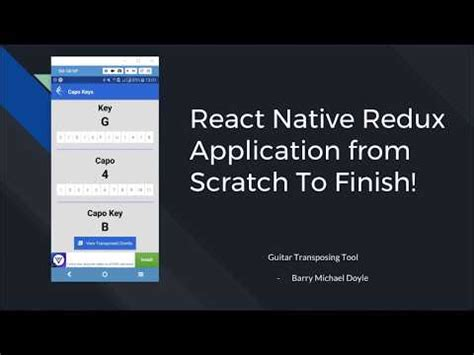 react native best tutorial react native redux tutorial with expo youtube