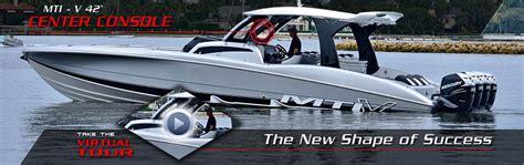 mti mojo boat for sale mti marine technology inc high performance boats