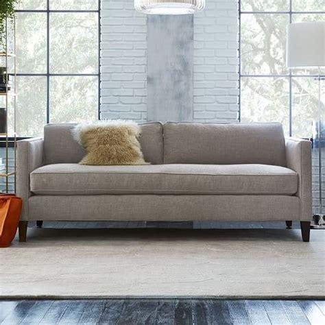 dunham sofa dunham down filled sofa box cushion west elm
