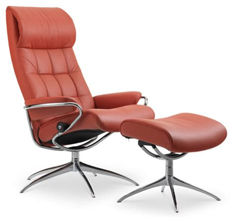 high back recliner chairs ekornes stressless london high back leather recliner and