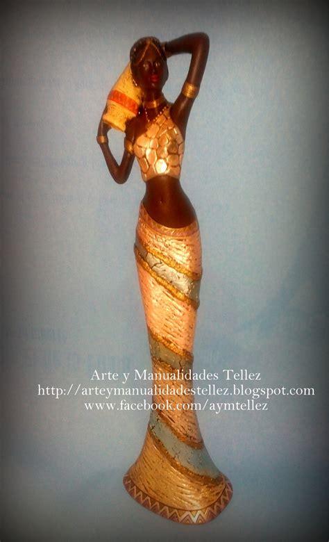 imagenes de negras en ceramica figura africana decorada figuras decoradas pinterest