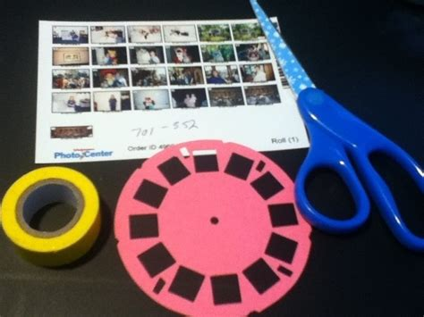 Viewmaster Photo Reel For A Scrapbook 183 How To Make A Mixed Media 183 Papercraft On Cut Out Keep View Master Reel Template