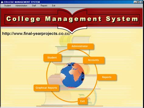 Mba In System Management Colleges by College Management System Vb Project Code Free
