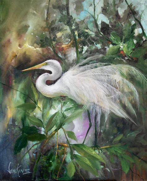 how to paint autumn egret painting packet books available paintings gary kathwren jenkins paint with