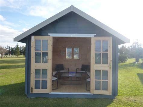 sleepout granny flat cabin wooden kitset garden shed