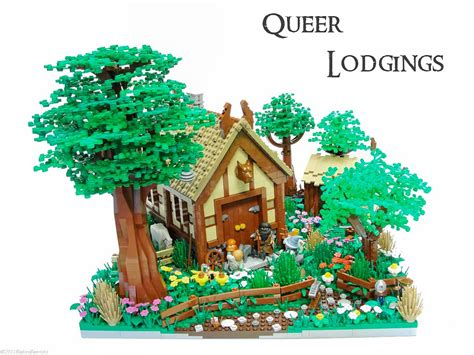 wood lego house queer lodgings quot soon the dwarves came to large flower