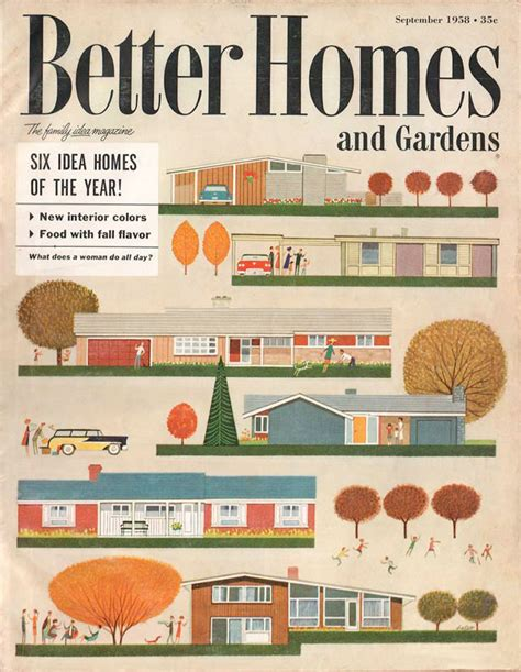 bhg homes vintage magazine covers with a quot wow factor quot webdesigner