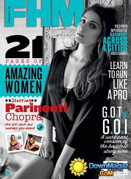 fhm  march    magazines magazines