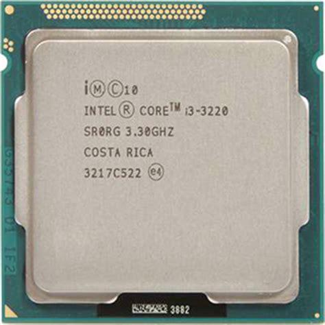 Processor I3 3220 intel i3 3220 techpowerup cpu database