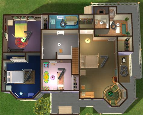 sims 2 floor plans sims 2 house layout house best design