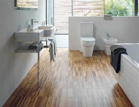 Walnut Bathroom Flooring by Flooring Ream