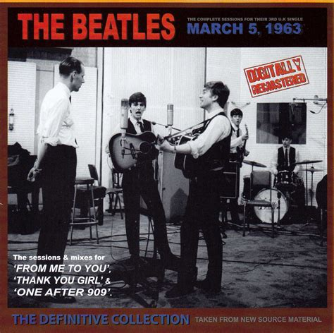 The Beatles 5 the beatles march 5 1963 the definitive collection