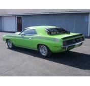 1970 Plymouth AAR Barracuda Cuda