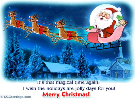 magical christmas eve  christmas eve ecards greeting cards