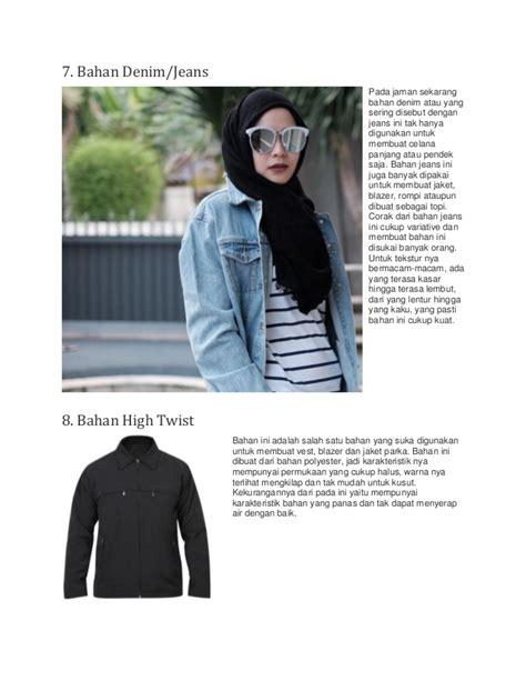 Jaket Blazer Wanita Inficlo Spi 638 8 jenis bahan kain yang tepat untuk membuat aneka jaket