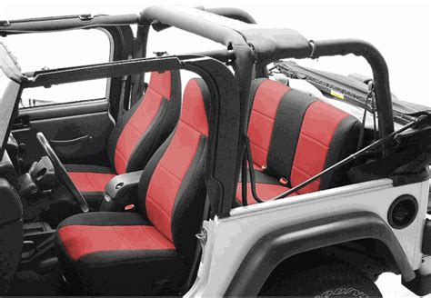 Seat Covers For Jeeps All Things Jeep Coverking Neoprene Rear Seat Covers For