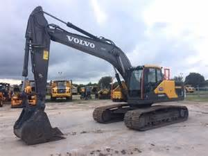 Volvo Used Construction Equipment Volvo Ec220el Crawler Excavators Construction