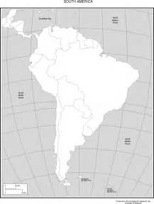 south america blank political map blank map of south america political