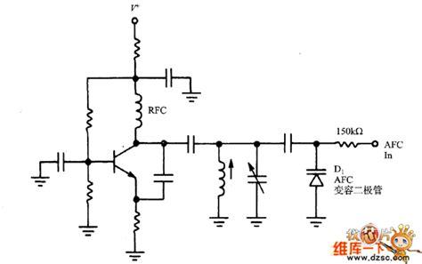 varactor diode oscillator afc varactor diode circuit diagram in this oscillator basic circuit circuit diagram seekic