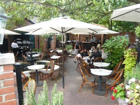 the garden patio picture of lindey s columbus tripadvisor