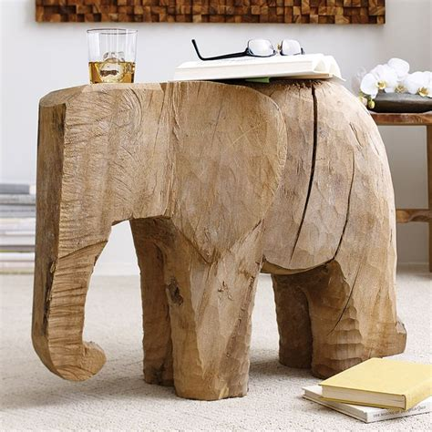 elephant accent table chiseled elephant accent table dot and bo elephants