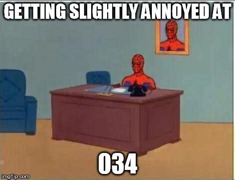 Spiderman Computer Meme - spiderman computer desk meme imgflip