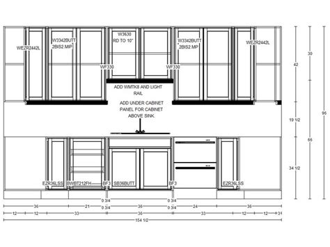 Kitchen Plan With Elevation Kitchen Floor Plans Free House Plans With Fabulous