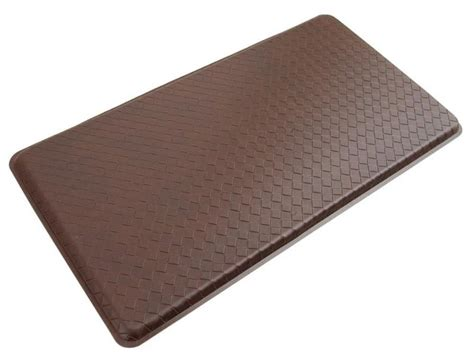 Padded Floor Mat by Anti Fatigue Floor Mat Cushioned Gel Kitchen Mat 20 X 36 Inch Truffle Brown New Ebay